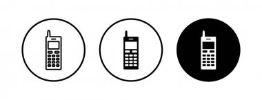 Phone icons set. Phone icon vector. Mobile phone and telephone symbol pack. Mobile phone. Telephone icon. Cellphone icon