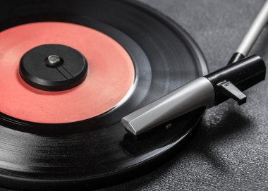 Vintage record player
