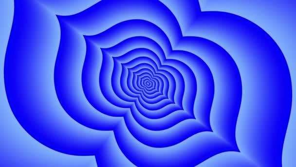 Végtelen alagút indigo lótusz