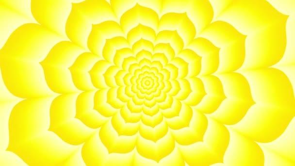 Nekonečné tunel žluté Lotus
