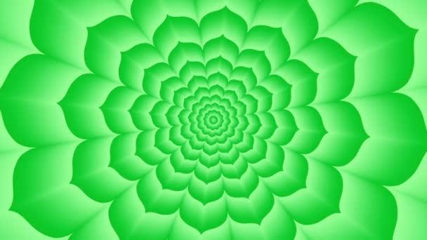 Nekonečné tunel zelené Lotus
