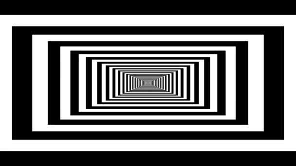 endloser Tunnel aus Rechtecken