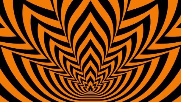 Narancs-fekete láng szembejövő szimbólumok