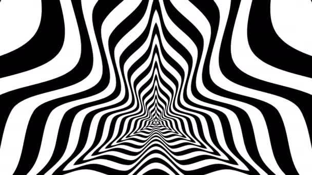 Absztrakt háromszögek homorú hullámok