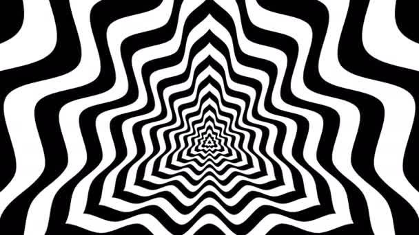 Abstraktní trojúhelníky s vypouklými vlny