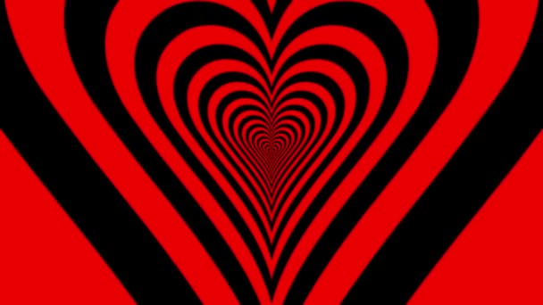 Soustředné temperamentní srdce