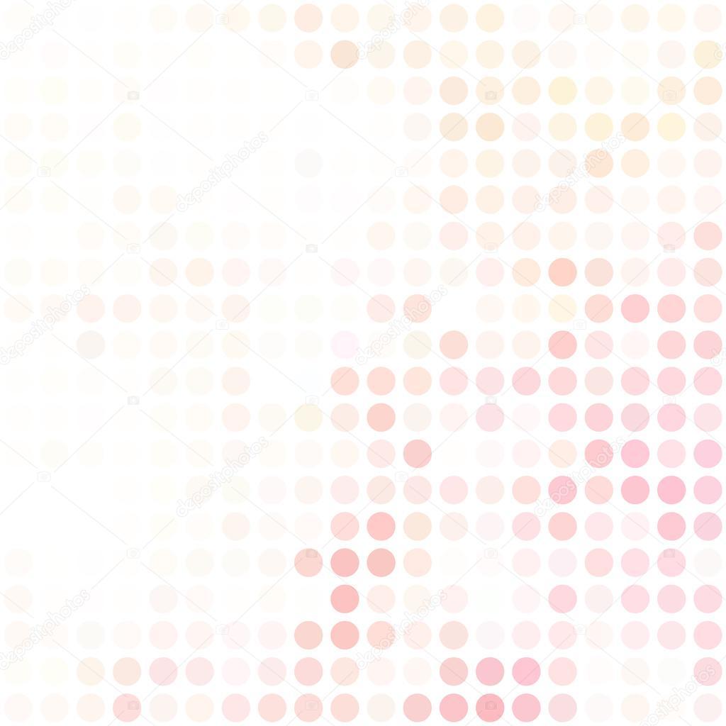 Rosa Punkte Hintergrund, kreative Design-Vorlagen — Stockvektor ...
