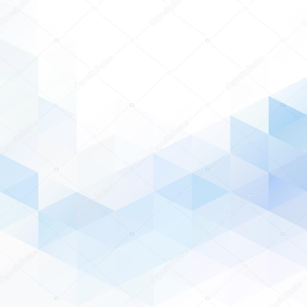 Mosaik blau Raster Hintergrund, kreative Design-Vorlagen ...
