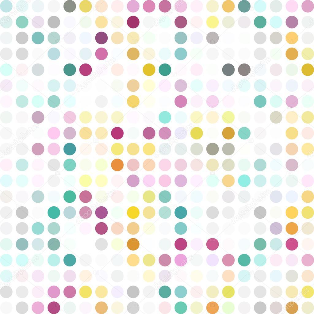 Bunte Punkte Hintergrund, kreative Design-Vorlagen — Stockvektor ...