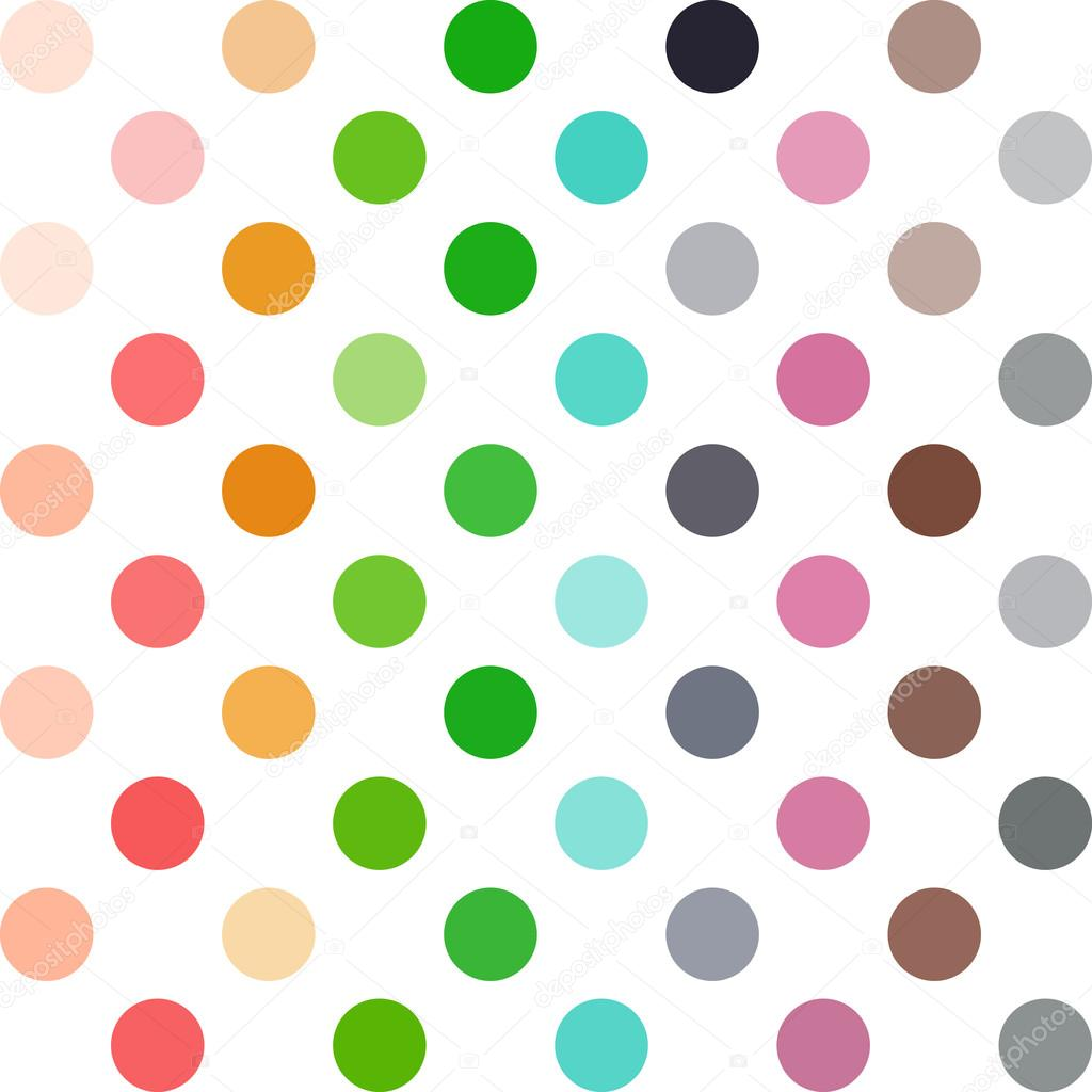 Colorful Polka Dots Background, Creative Design Templates — Stock ...