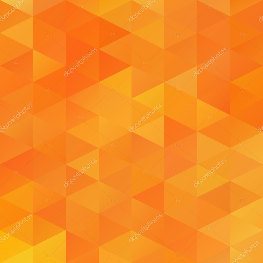 Orange Grid Mosaik Hintergrund, kreative Design-Vorlagen ...