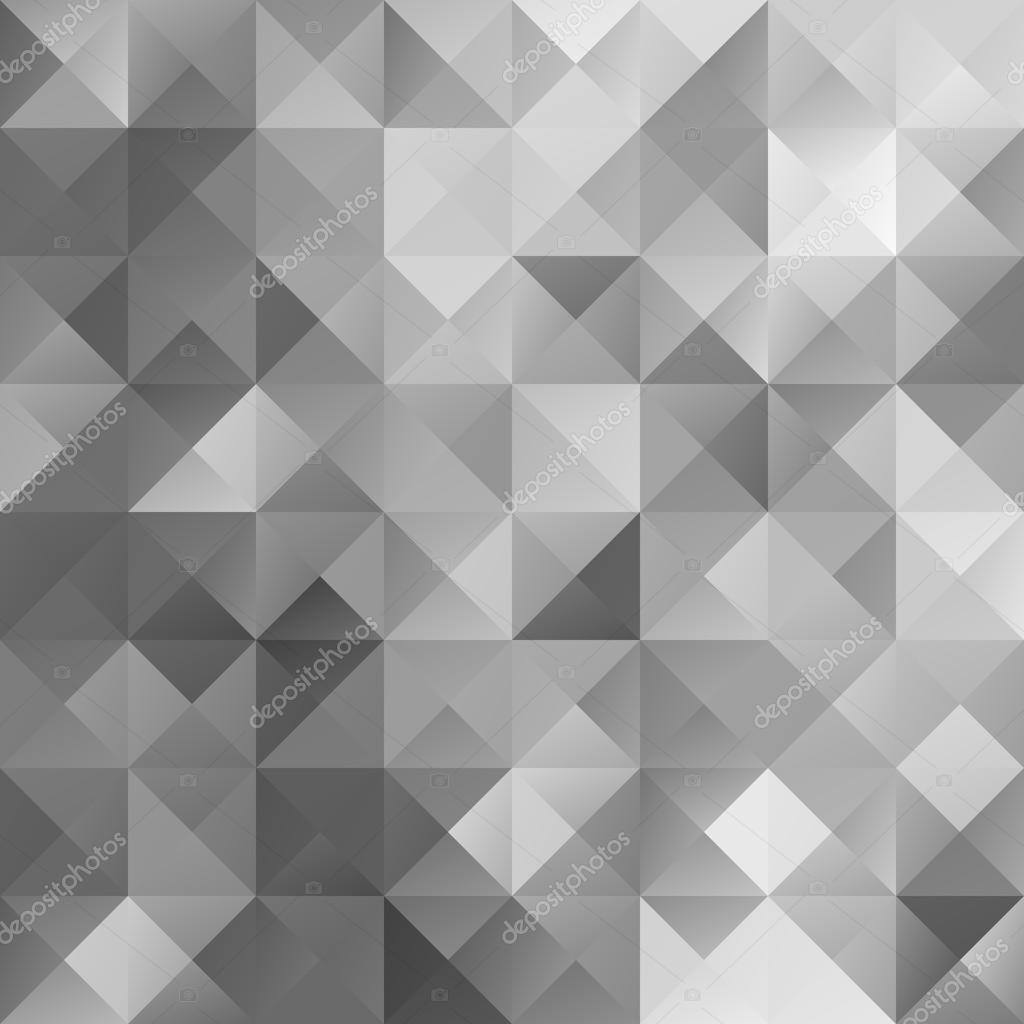 Mosaik grau Raster Hintergrund, kreative Design-Vorlagen ...