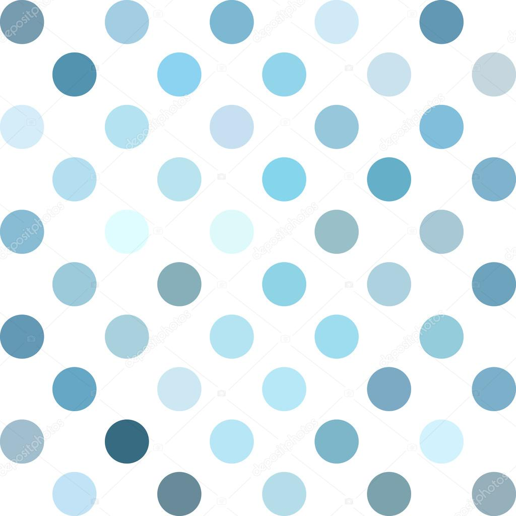 blue polka dots background creative design templates stock vector