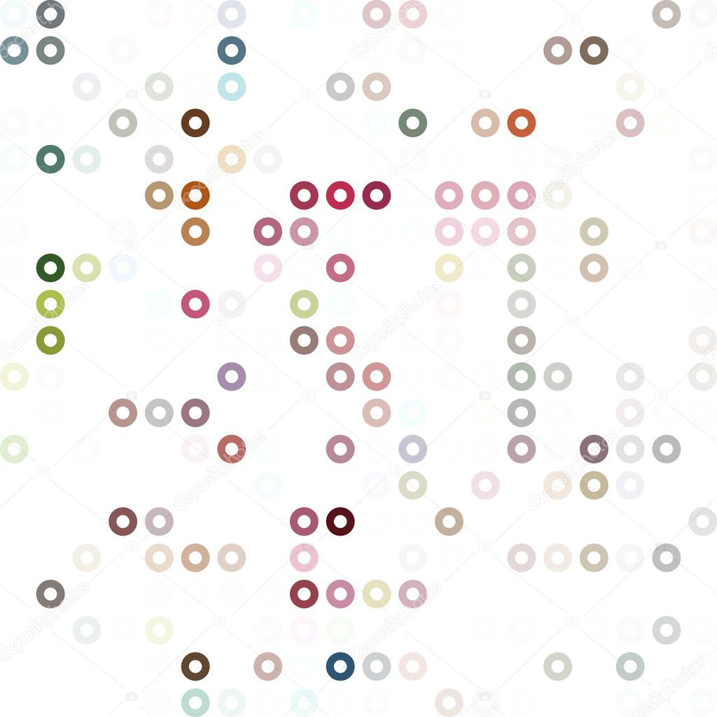 Bunte Donuts Hintergrund, kreative Design-Vorlagen — Stockvektor ...