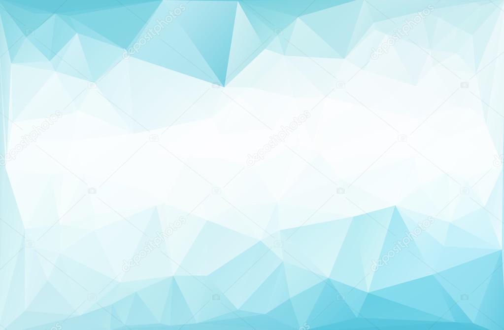 Blauer polygonalen Mosaik Hintergrund, kreative Design-Vorlagen ...
