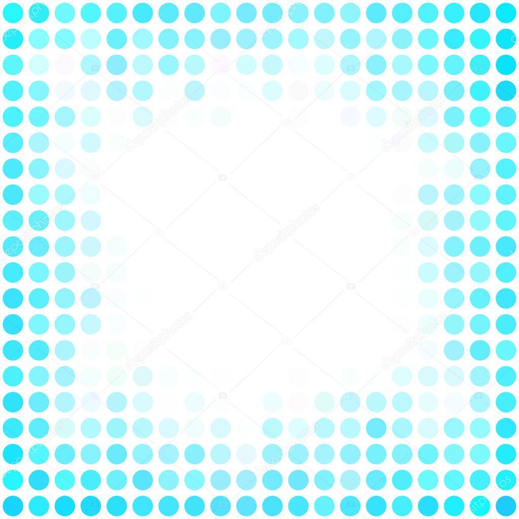 Blaue Punkte Hintergrund, kreative Design-Vorlagen — Stockvektor ...
