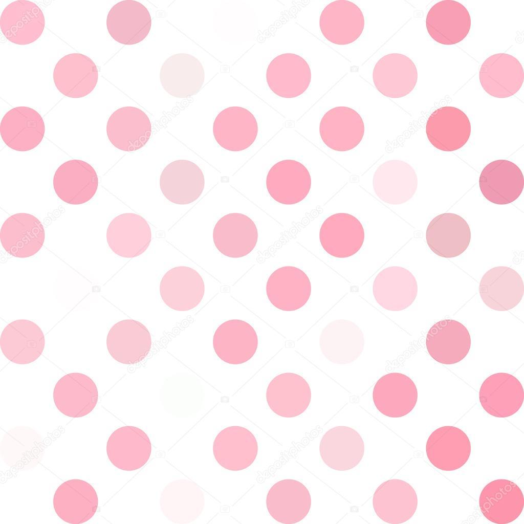 pink polka dots background creative design templates