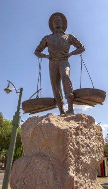 Malaga in Andalusia, Spain. Sculpture