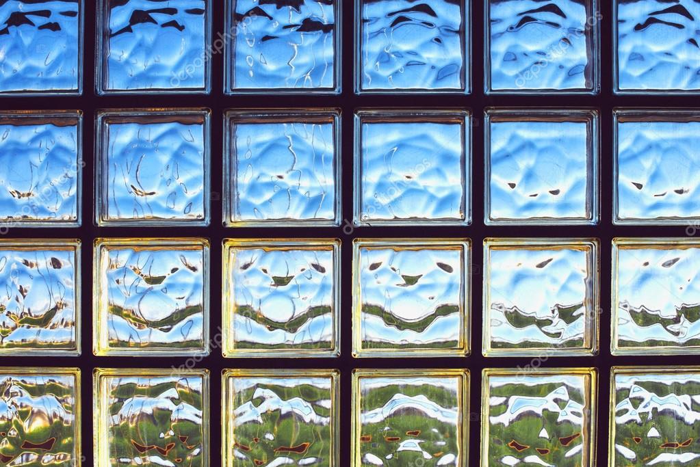 Pareti Di Vetromattone : Sfondo di vetro mattone parete struttura u foto stock klublub