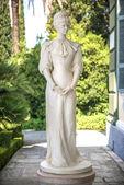 Photo Statue of Sisi, Elisabeth of Bavaria, in Corfu, Greece