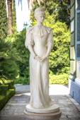 Photo Statue of Sisi, Elisabeth of Bavaria, in Corfu, Greece