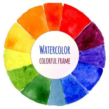 Handmade color wheel.