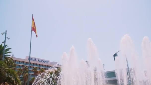 Fountains Outside Melia Alicante Hotel Popular Luxury Hotel In Costa Brava Spain