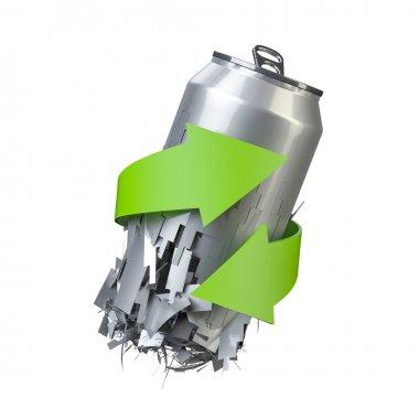 recicling metal can