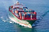 konténerszállító hajó