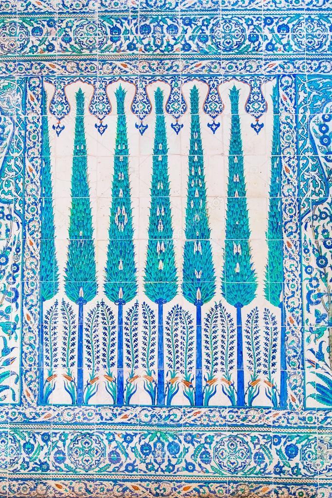 Piastrelle blu foto stock evrenkalinbacak 80816624 - Stock piastrelle 2 euro ...