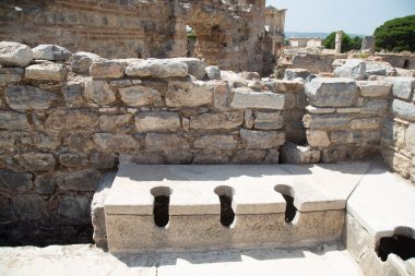 Public Toilets of Ephesus Ancient City
