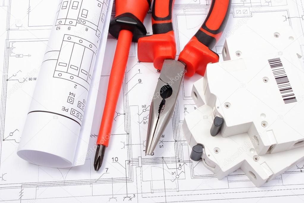 Schemi Elettrici : Schemi elettrici quadro elettrico e strumenti di lavoro su