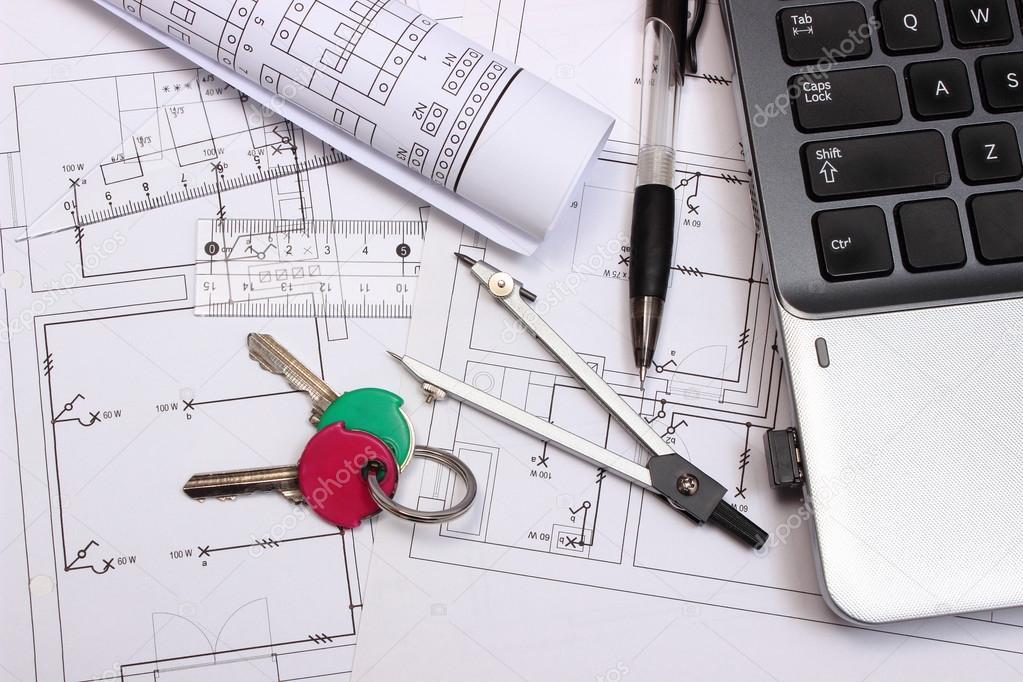 Schemi Elettrici Casa : Schemi elettrici accessori per il disegno chiavi e portatile per