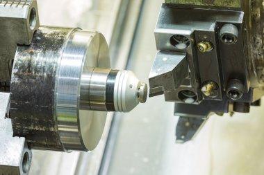 operator setup cnc machining parts before machining