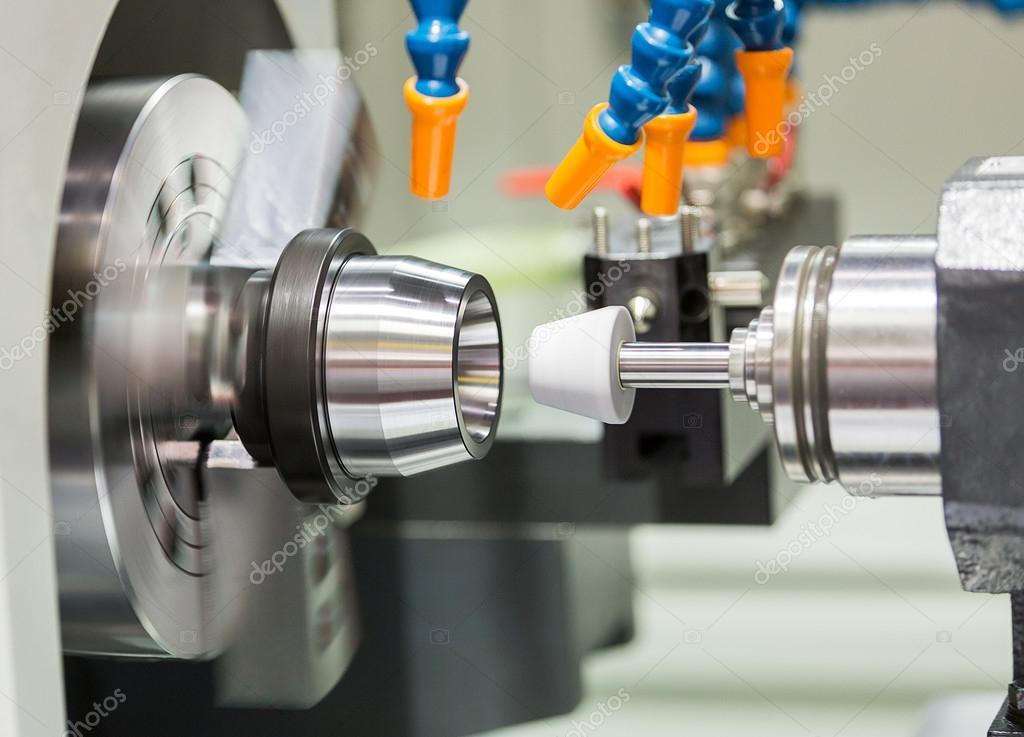 automotive cnc lathe and cnc grinding part