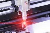 Fotografie CNC laserové řezání plechů