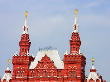 The State Historical Museum on Red Square