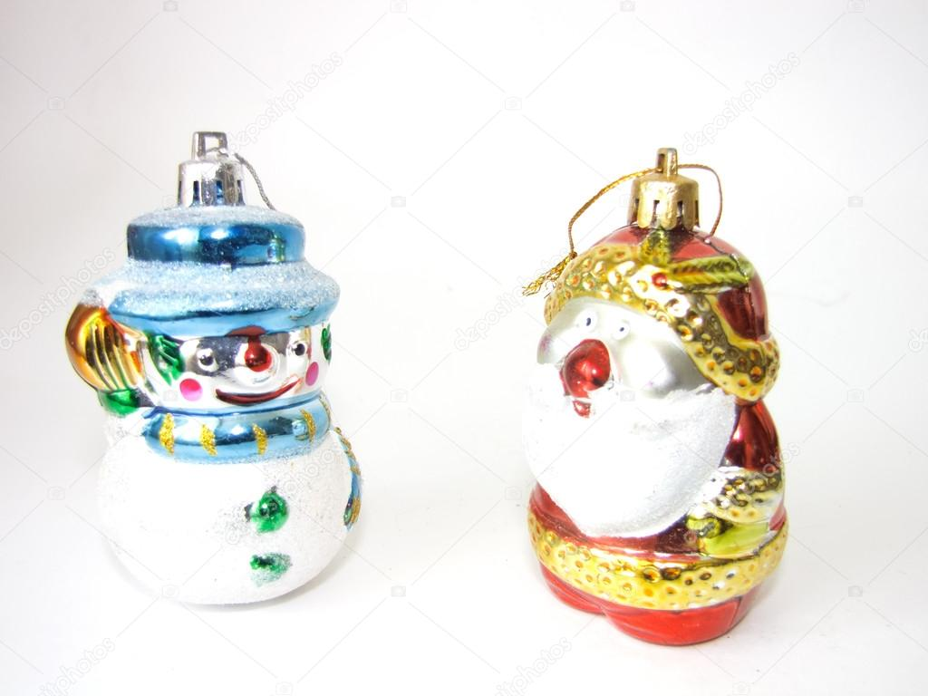 Muñeco De Nieve Y Papá Noel Charicature