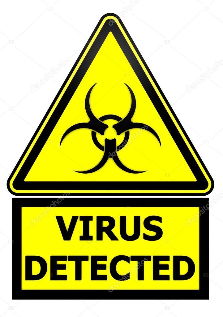 Handy Virus Warnung