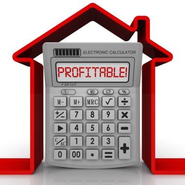 Profitable real estate. Concept