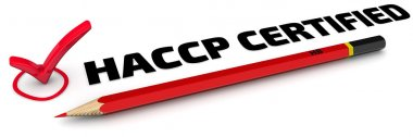 HACCP CERTIFIED. The Mark