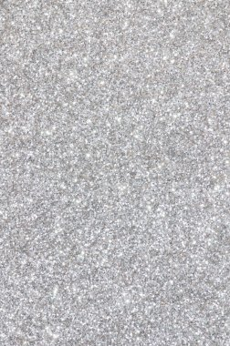 silver glitter texture background