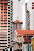 Fényképek Ázsiai Singapore City Down Town