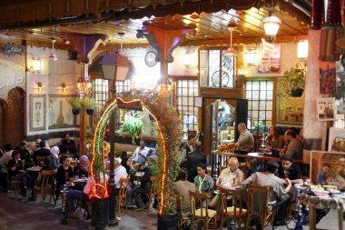People at  Cafe An Nafura