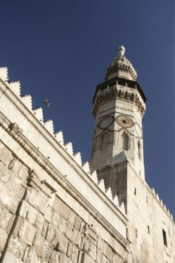 Umayyad Mosque in city Damaskus
