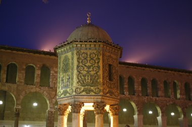 Umayyad Mosque in city Damaskus