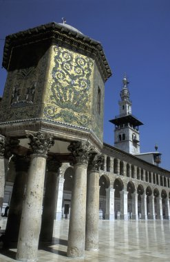 Umayyad Mosque in Damaskus