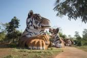 Tiger Temple a nord della città