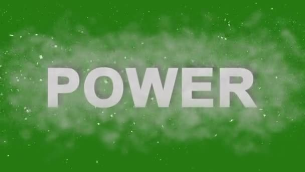 Power. Motivational Animation Titles. Inpired Logo for Trailers