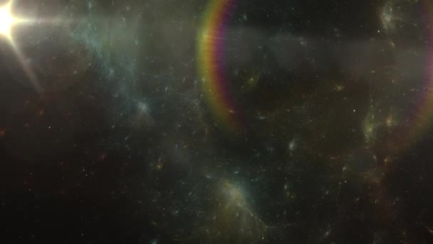 Space Animation. Stars Background